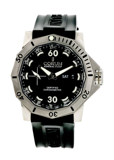 Corum Admiral's Cup 01.0085 Mens Watch Box Papers