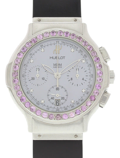 Hublot MDM Classic Chronograph Stainless Steel 1640.1