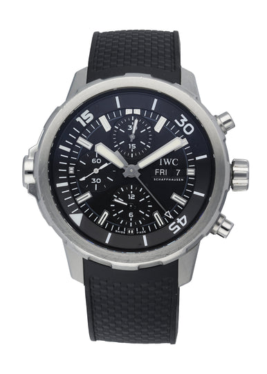 IWC Aquatimer IW376803 Mens Watch With Card