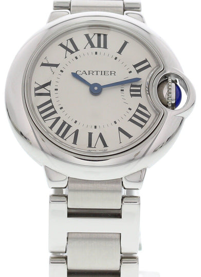 Ladies Cartier Ballon Bleu 3009 Stainless Steel
