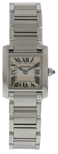 Ladies Cartier Tank Francaise 2300 W/ Papers