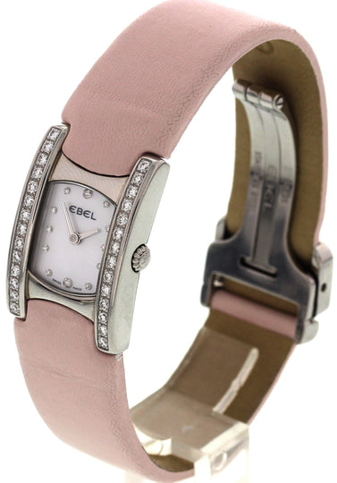 Ladies Ebel Beluga Stainless Steel with Diamonds Watch