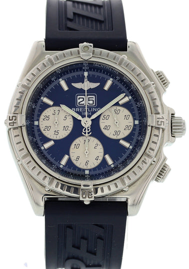 Men's Breitling Windrider Crosswind Stainless Steel A44355