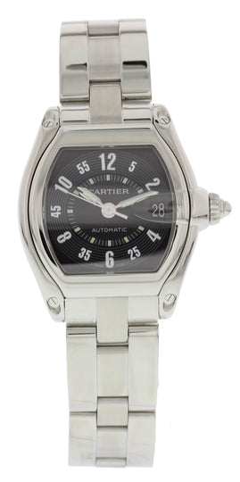 Men's Cartier Roadster 2510 Automatic Black Dial