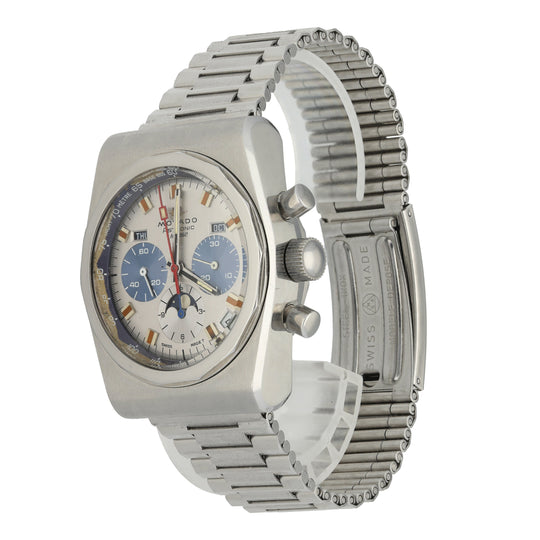 Movado Astronic HS 360 Chronograph Vintage Men's Watch