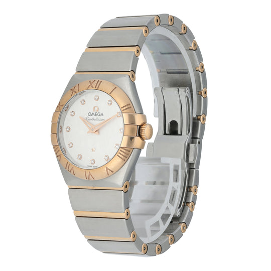 Omega Constellation 123.20.27.60.52.002 Ladies Watch Box Papers