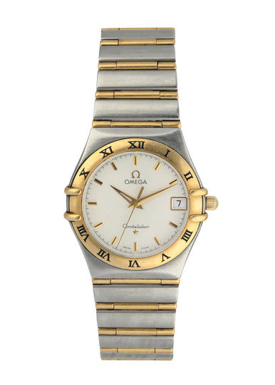 Omega Constellation Two Tone Mens Watch