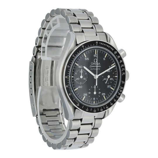 Omega Speedmaster Reduced 3510.50.00 Mens Watch Box Papers