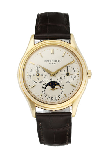 Patek Philippe Perpetual Calendar 3940 18k Yellow Gold Men's Watch