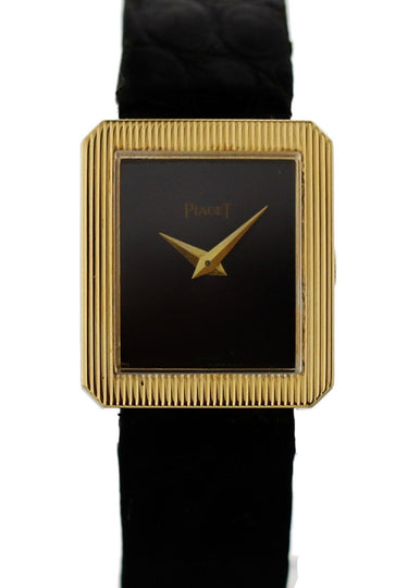 Piaget Protocole 8154 18K Yellow Gold Vintage Watch