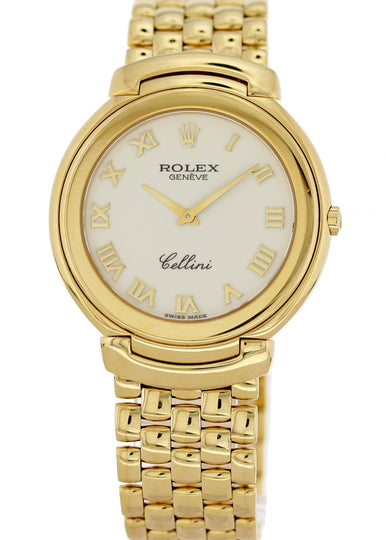 Rolex Cellini 18K Yellow Gold 6623 Mens Watch