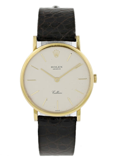Rolex Cellini 5112 18k Gold Watch