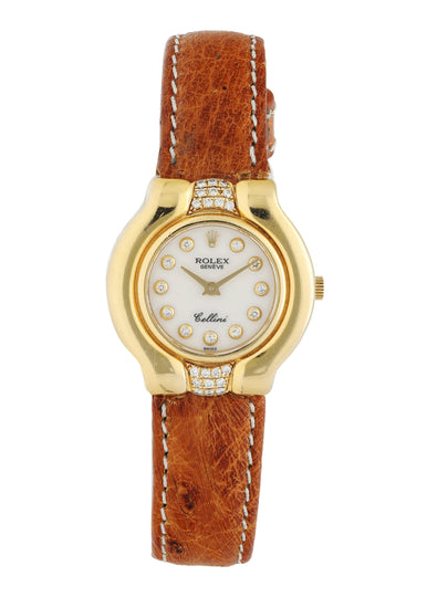 Rolex Cellini 5204 Yellow Gold Ladies Watch