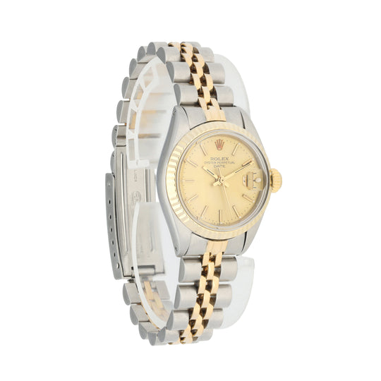 Rolex Date 6917 Ladies Watch Box Papers