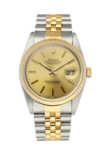 Rolex Datejust 16233 Men's Watch Box Papers