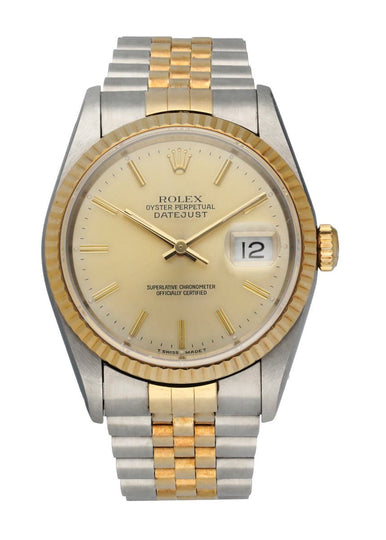 Rolex Datejust 16233 Mens Watch Box & Papers