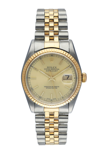 Rolex Datejust 16233 Men's Watch Box & Papers