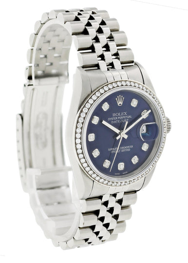Rolex Datejust 16234 Diamond Men Watch