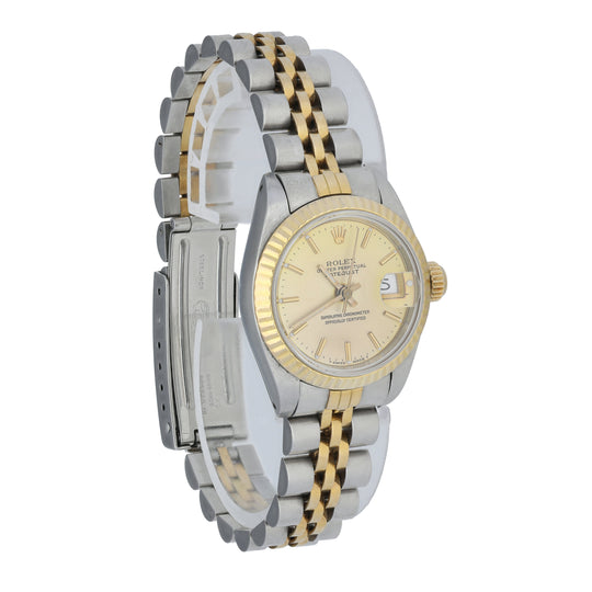 Rolex Datejust 69173 Ladies Watch Box Papers