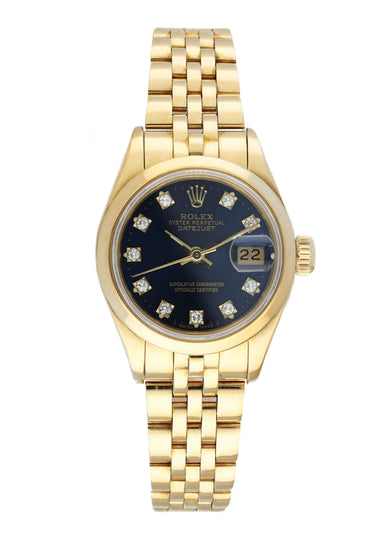 Rolex Datejust President 69168 Ladies Watch