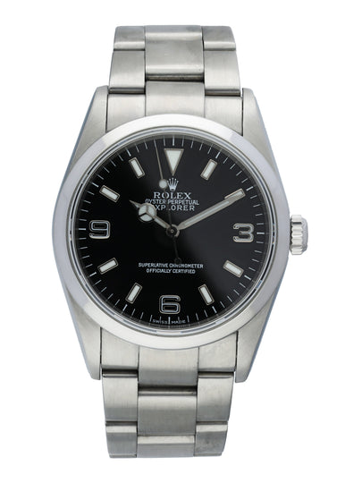 Rolex Explorer 114270 Mens Watch Box Papers