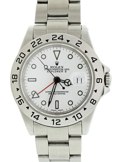 Rolex Explorer II 16570 Polar Mens Watch