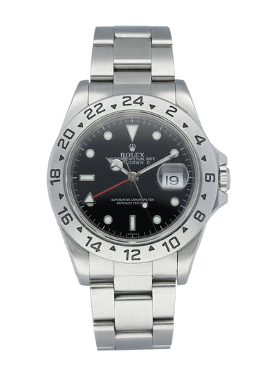 "Rolex Explorer II 16570 ""SWISS"" Dial Mens Watch"