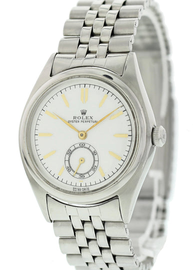 Rolex Oyster Perpetual 5026 Bubble Back Men's Watch