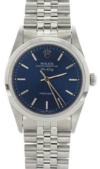Rolex Oyster Perpetual Air-King Precision 14000 Jubilee Band