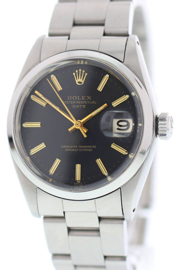 Rolex Oyster Perpetual Date 1500 Stainless Steel