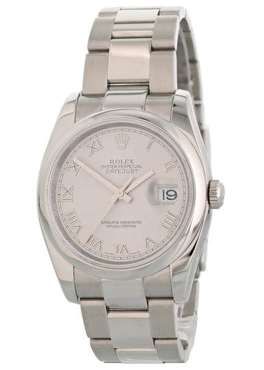 Rolex Oyster Perpetual Datejust 116200 Men's Watch Original Papers