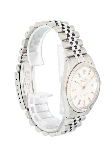 Rolex Oyster Perpetual Datejust 1601 Mens Watch