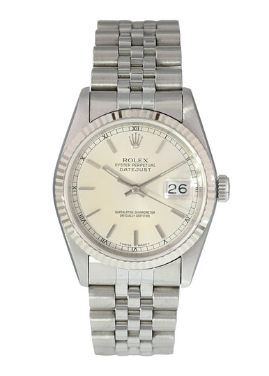 Rolex Oyster Perpetual Datejust 16014 Mens Watch