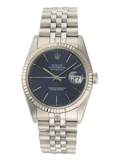 Rolex Oyster Perpetual Datejust 16234 Mens Watch