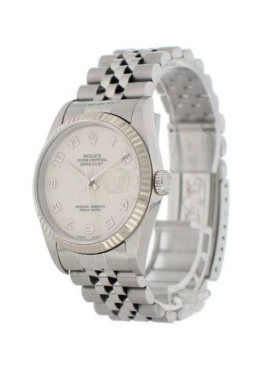 Rolex Oyster Perpetual Datejust 16234 Rolex Dial Mens Watch