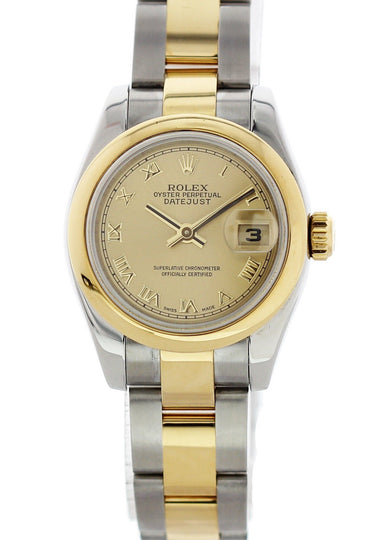 Rolex Oyster Perpetual Datejust 179163 Ladies Watch