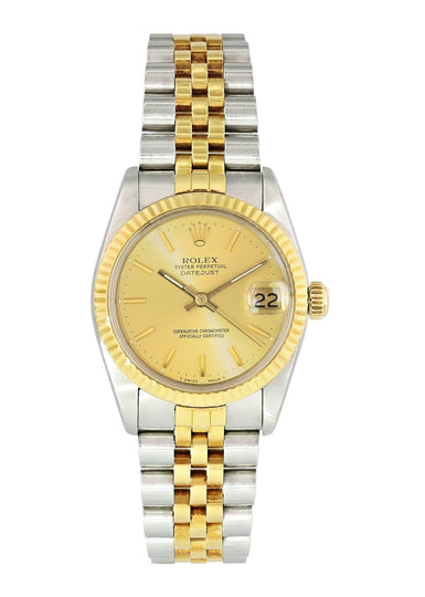 Rolex Oyster Perpetual Datejust 68273 Midsize Watch