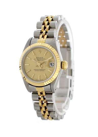 Rolex Oyster Perpetual Datejust 69173 Ladies Watch