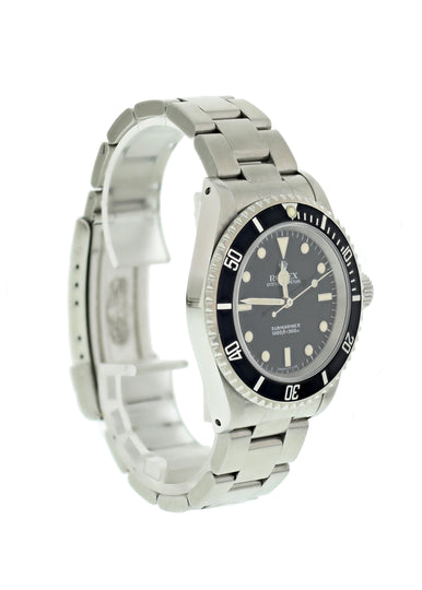 Rolex Oyster Perpetual Submariner No Date 14060 Mens Watch