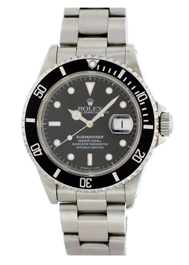 Rolex Submariner Date 16610 Mens Watch