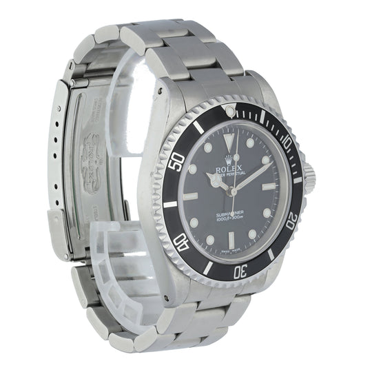 Rolex Submariner NO DATE 14060 Men's Watch