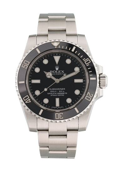 Rolex Submariner No Date Ceramic Bezel 114060 Mens Watch