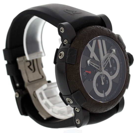 Romain Jerome Titanic DNA CH.T.OXY3.BBBB.00.BB Black Satin-Finished SS