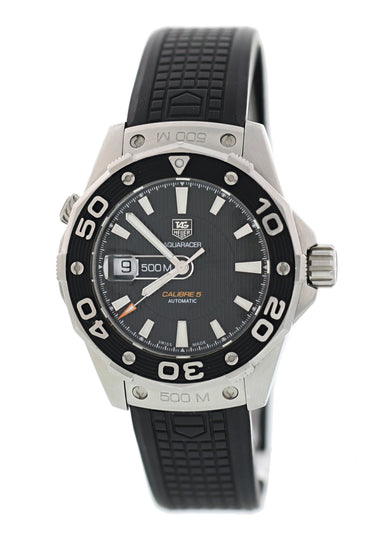Tag Heuer Aquaracer WAJ2110 Diver 500 Mens Watch Box Papers
