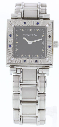 Tiffany & Co Atlas Stainless Steel Ladies Watch