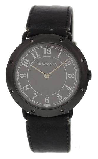 Tiffany & Co. Black Ceramic Ladies Watch