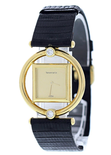 Tiffany & CO. Paloma Picaso 18k Yellow Gold Ladies Watch Original Box