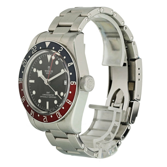 Tudor Heritage Black Bay 79830RB GMT Pepsi Bezel Mens Watch Box Papers