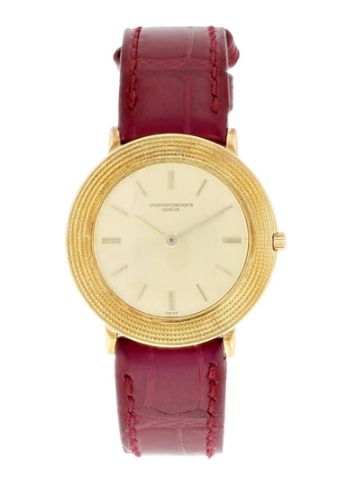 Vacheron Constantin 6395 18k Yellow Gold Vintage Watch