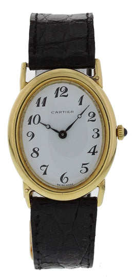 Vintage Cartier 9029.21 18K Yellow Gold Watch